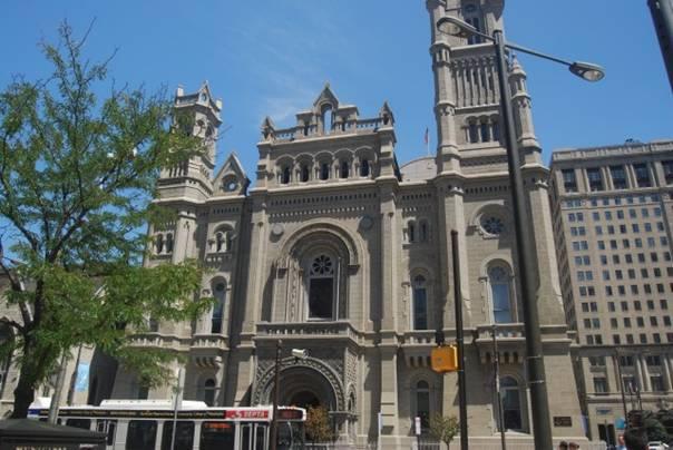 Здание масонской ложи в Филадельфии