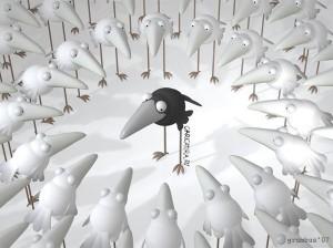 26-белая ворона