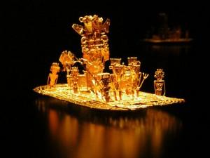 39-3-Золотой плот чибча