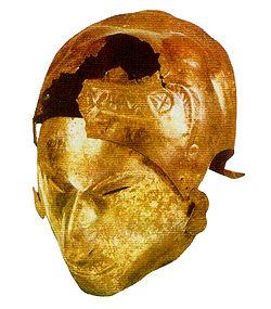 65-Маска (культура Гуанкавилька)