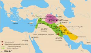 07-2-завоевания саргона древнего 2300