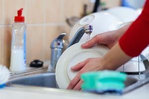 37-мытьё посуды