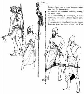 42-аккадские воины