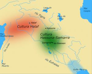 46-халафская и хассуно-самаррская культуры
