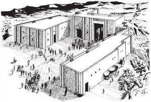67-0-Реконструкция храма в Тепе-Гавра