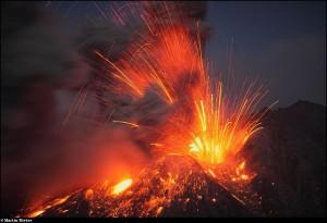 39-извержение вулкана - гекла