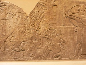 56-Взятие ассирийцами города