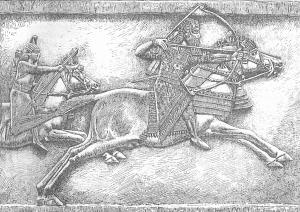 59-Ашшурбанапал охотится на львов