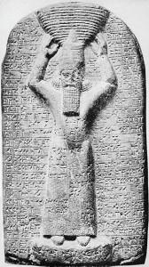 60-Ашшурбанапал в образе священного строителя храма Мардука