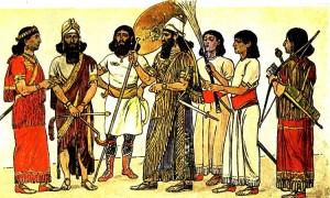 88-ассирийский костюм