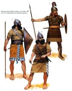 89-ассирийские воины