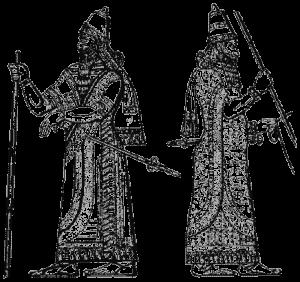 90-одежда ассирийских царей
